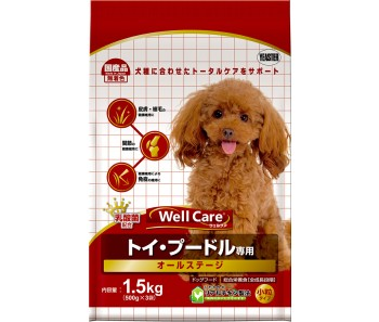 Well Care Poodle All Stages - 1.5kg