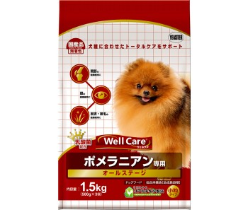 Well Care Pomeranian All Stages - 1.5kg