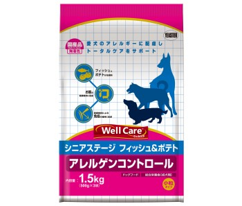 Well Care All Breeds Fish & Potato Senior - 1.5kg