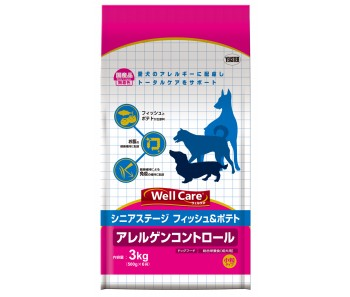 Well Care All Breeds Fish & Potato Senior - 3kg