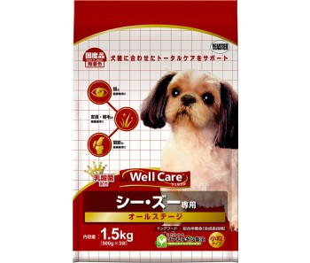 Well Care ShihTzu All Stages - 1.5kg