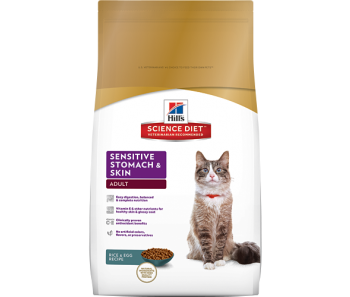 Science Diet Feline Adult Sensitive Stomach - Available in 3.5lbs