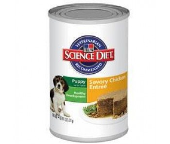 Science Diet Canine Canned Puppy Chicken Entrée 13oz