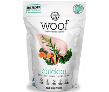 Woof Freeze Dried Raw Dog Food Chicken' - 1.2kg