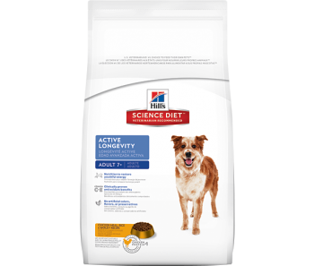 Science Diet Canine Mature Adult Active Longevity Original - Available in 4kg, 9.75kg & 15kg