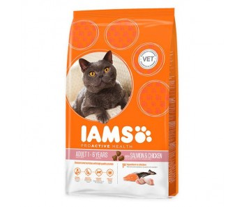 IAMS Feline Salmon & Chicken - Available in 1.5kg & 3kg