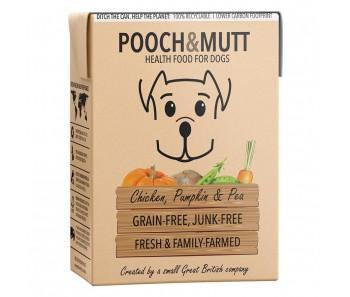 Pooch & Mutt Wet Food Chicken, Pumpkin And Pea Grain-Free - 375g