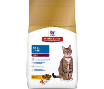 Science Diet Feline Adult Oral Care - Available in 3.5lbs