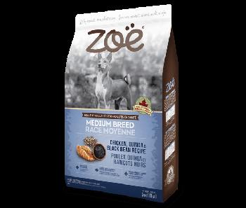 Zoe Dog Chicken, Quinoa & Black Bean Recipe Medium Breed 5kg