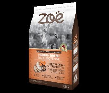 Zoe Dog Turkey, Chickpea & Sweet Potato Recipe Medium Breed 5kg