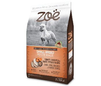 Zoe Dog Turkey, Chickpea & Sweet Potato Recipe Small Breed 2kg