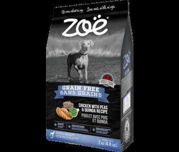 'GSS Zoe Dog Grain Free Chicken with Peas & Quinoa 2kg